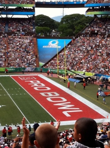 Honolulu Hawaii ProBowl at Aloha Stadium